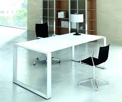 stock bureau plateau verre trempac bureau bureau en verre trempac noir plateau