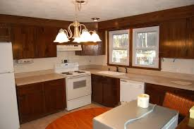kitchen room vinyl covered kitchen cabinet doors gray and yellow