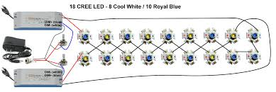 wiring diagrams 12v led circuit wiring lights in series led