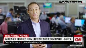 witness describes man being dragged off flight cnn video