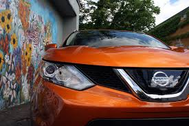 orange nissan rogue 2017 nissan rogue sport review autoguide com news