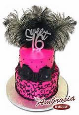 Pink And Black Sweet 16 Decorations Sweet Sixteen Cake Ideas Purple Pink Black 22111 Sweet 16