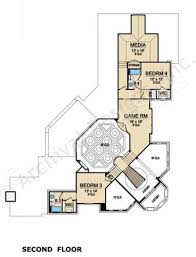 san gimignano luxury floor plan mediterranean house plan