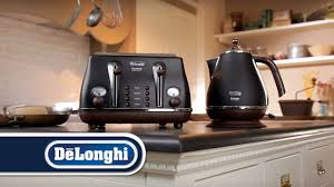 Delonghi Icona Toaster Silver Delonghi Kettle And Toaster Set Black Deulonghi Vintage Icona