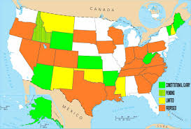 Map For Usa by Constitutional Carry The Three Best Arguments In Favor
