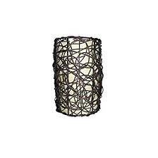Portfolio Pendant Light Portfolio 9 In H 6 In W Wicker Cylinder Pendant Light Shade