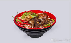 asian dish ring holder images Melamine dinnerware noodle bowl cone ring striae bowl with chain jpg