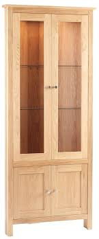 wood curio cabinet with glass doors wood display cabinet elm wood glass narrow tall display cabinet