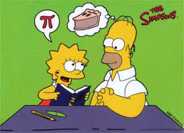 Haha Simpsons Meme - haha homer simpson learning about pi gc mes fm final exams