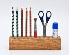 Desk Pencil Holder Sale 50 Off Desk Organizer Wood Pen Holder Pencil By Lessandmore