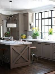 Country Kitchens With Islands Modern Country Kitchen With Reclaimed Wood Island And Quartz