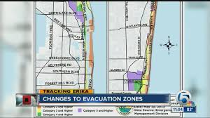 West Palm Beach Map Changes To Evacuation Zones Youtube