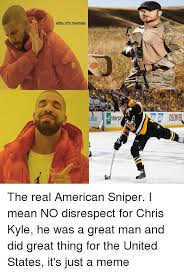 Nhl Memes - elite nhlmemes terpr the real american sniper i mean no disrespect
