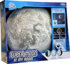 amazon com super moon in my room remote control wall décor night