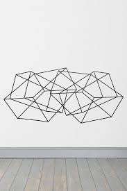 interior design geometric wall art curioushouse org