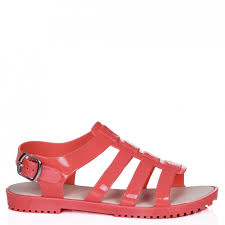 flat jelly sandals 28 images fashion buckle flat jelly sandals