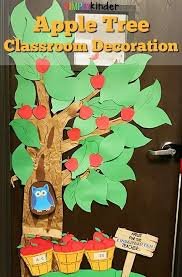 Monkey Classroom Decorations Back To Apple Tree Classroom Decoration