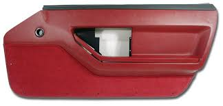1987 corvette door panels 1985 corvette deluxe door panel left 404 99 vetteco inc