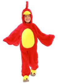 child grumpy red bird costume kids iphone game costumes
