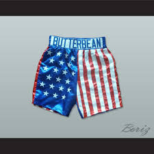 American Flag Workout Shorts Eric U0027butterbean U0027 Esch American Flag Boxing Shorts