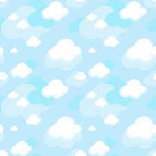 blue pattern background clouds pattern background u2014 stock vector hayaship 32559061