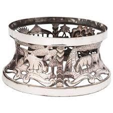 porcelain skeleton ring holder images Georgian irish potato or dish ring c 1785 ireland from john jpg