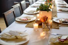 Dinner Ideas For New Years Eve Party Intimate Table Decoration For New Year Party With Candle Lights