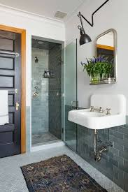 bathroom with weave bath rug featured fringe cleaning your