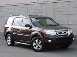 grey honda pilot used 2011 honda pilot ex l at auto house usa saugus