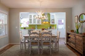 Opening Kitchen To Dining Room Kitchen Dining Room Combo Captainwalt Com