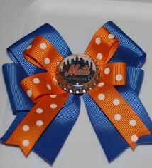 gifts for mets fans mets mets bow mets hair bow mlb mets fans mets gifts by bowsforme