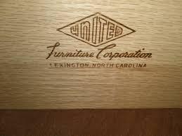 Lexington Furniture Desk Mid Century Modern Desk With Brass Handles U2013 United Furniture