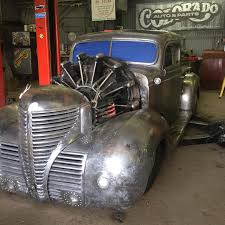 Old Ford Truck Engines - plymouth truck with a radial aircraft engine u2013 engine swap depot