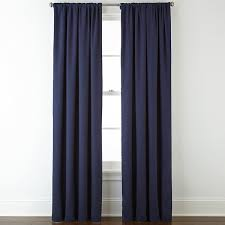 Jcpenney Home Collection Curtains Jcpenney Home Jenner Cotton Twill Rod Pocket Back Tab Thermal