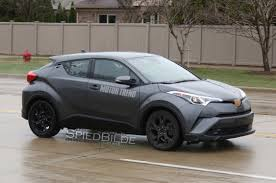 2018 toyota c hr bound for l a auto show motor trend canada
