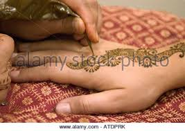 henna tattoo body art detail hand woman culture tradition typical