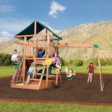 amazon com backyard discovery mountain range all cedar wood