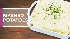 mashed potatoes dinner recipes
