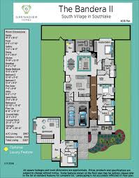 patio homes floor plans grenadier homes south village