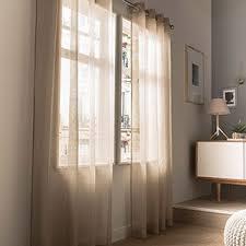 rideau fenetre chambre rideau voilage vitrage et rideaux sur mesure leroy merlin