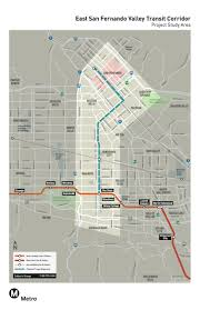 Amtrak Train Station Map by Draft Study Released For Brt Or Rail Project Between Van Nuys And