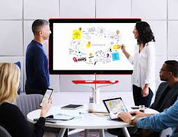 Office Google Google Jamboard Smart Collaboration Space Gadget Flow