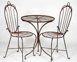 Rod Iron Patio Table And Chairs Wrought Iron Patio Table Furniture Home Design By Fuller