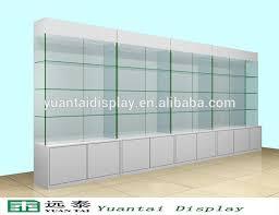 lockable glass display cabinet showcase free standing glass display cabinet free standing glass display