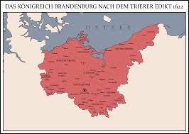 Trier Germany Map by Kingdom Of Brandenburg 1622 By Rarayn On Deviantart