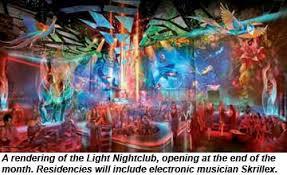 Light Night Club Evolution U0027 In Mandalay Bay Refurb Travel Weekly