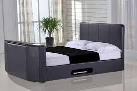 Tv Bed Frames Casino 5ft Kingsize Tv Bed Black Leaders Creative Tv Beds
