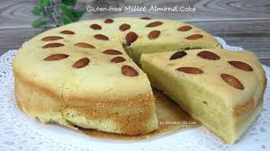 cuisine milet gluten free millet almond cake dietplan 101 com