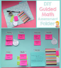 Peechy Folder Guided Math Assessment Folder Sticky Notes Washi Tape A Folder