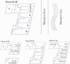 floors plans marquis miami condo floor plans